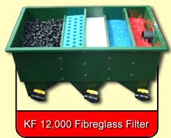 KF 12,000 Fibreglass Filter