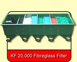 KF 20,000 G & P Fibreglass Filter
