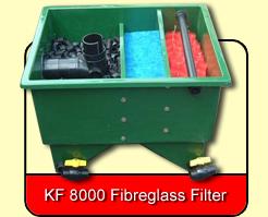 KF 8000 G & P Fibreglass Filter