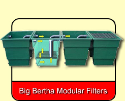 Big Bertha Modular Fibreglass Filters
