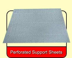 Perforated Support Sheets