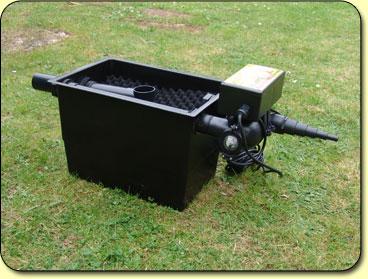 Mega media black box kockney koi for Large pond filter box