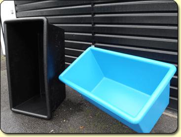 bowls stock tanks and net bins kockney koi. Black Bedroom Furniture Sets. Home Design Ideas