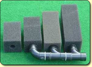 Yamitsu Pre-filters - Four sizes of foam blocks are available